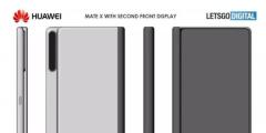华为Mate X 2外观专利图公布:机身更圆润一体化更强