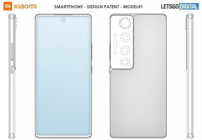 小米申请三种智能机外观设计专利
